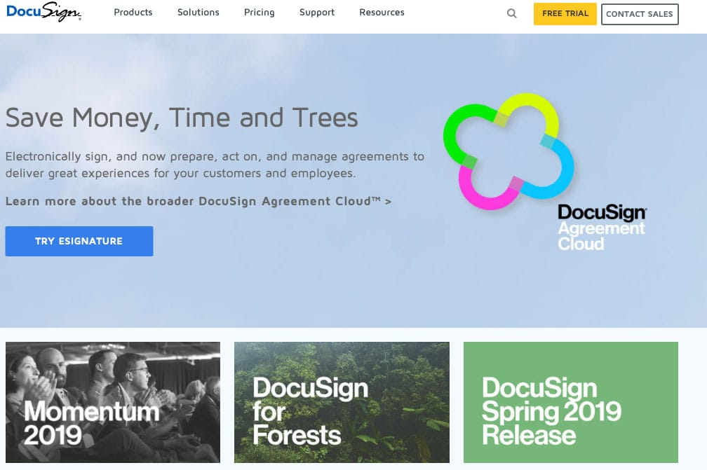 docusign legal tools for startups