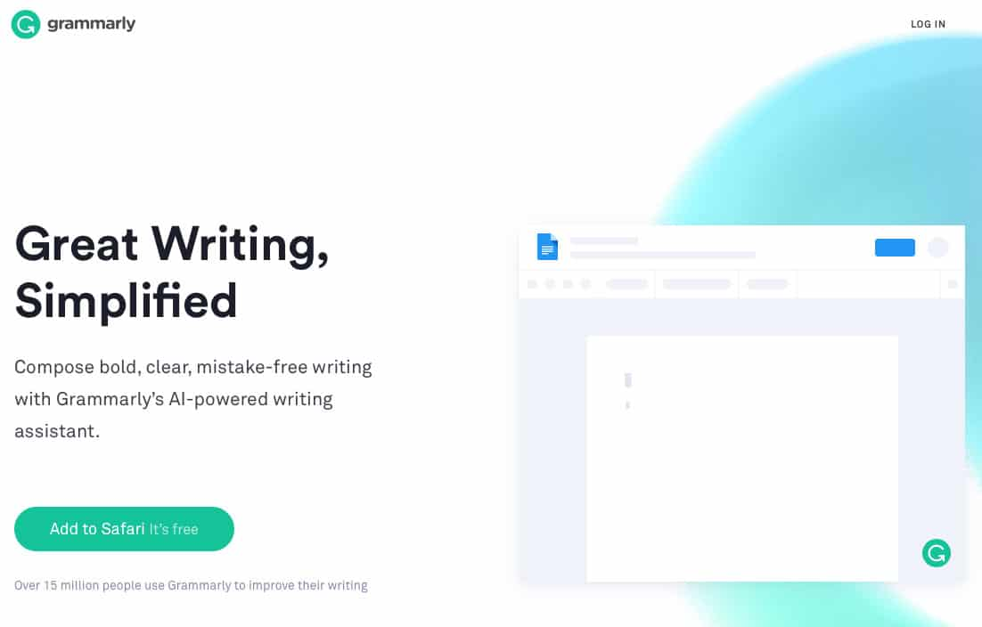 Grammarly is the best grammar and spelling checker