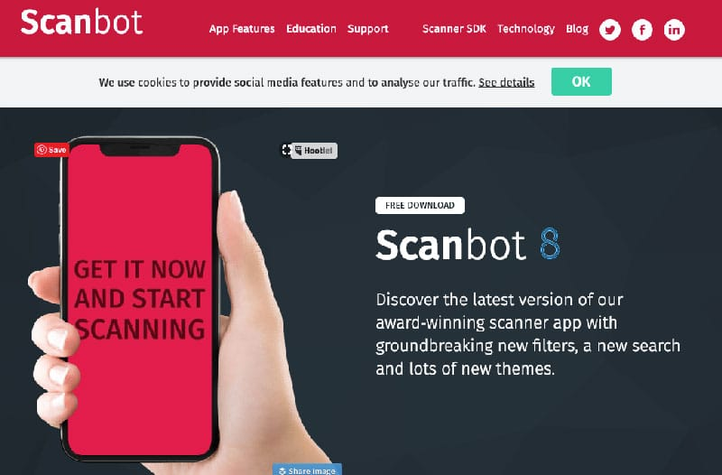scanbot is one of the best productivity tools