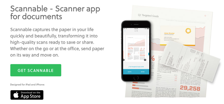 one of the best productivity tools for scanning documents
