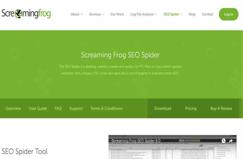 screaming frog an seo tool