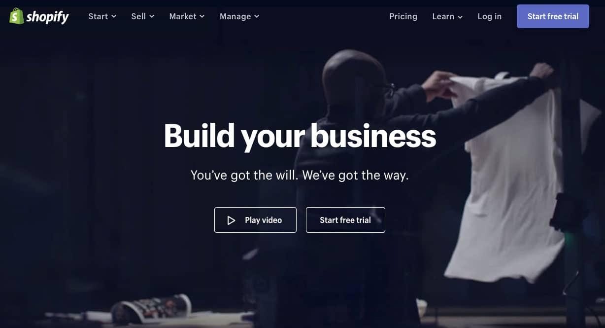 Shopify is an ideal ecommerce platform to launch your startup