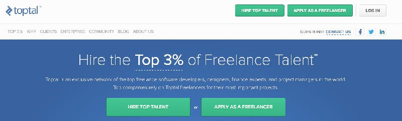 toptal outsourced talent for productivity