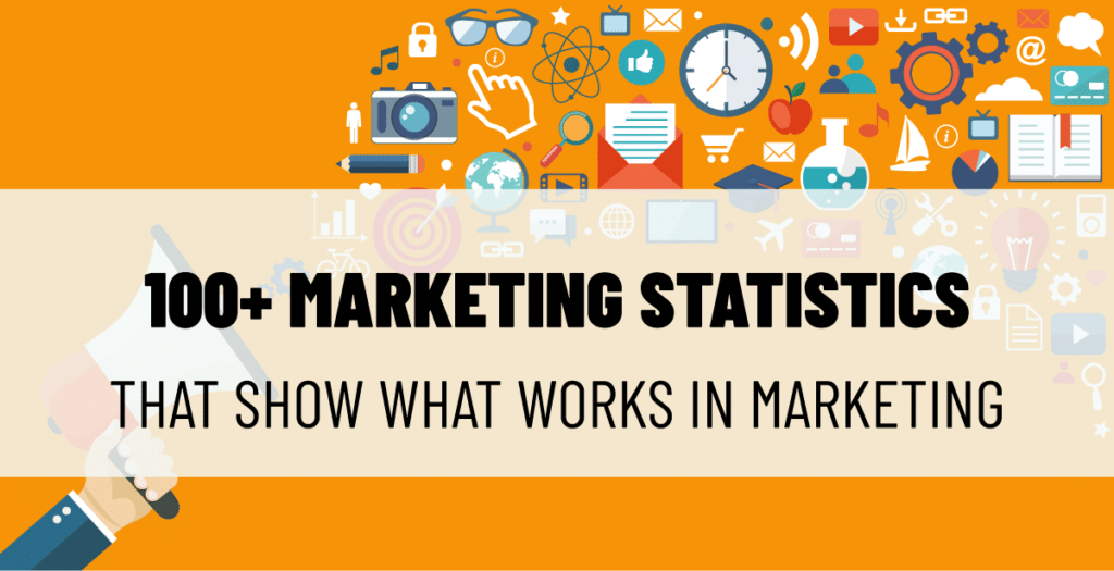 over 100 marketing statistics