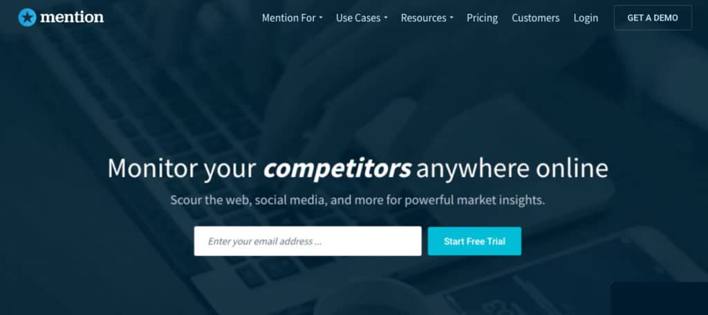 content marketing tools mention