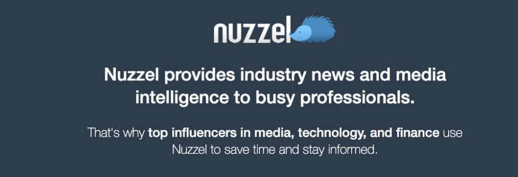 nuzzle one of many content marketing tools
